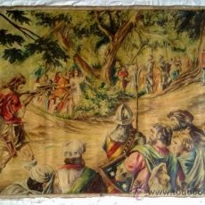 Arte: OLEO SOBRE TELA. ORIGINAL FIRMADO EN 1950. TEMA GUILLERMO TELL 140 X 90 CM. Lote 38667763