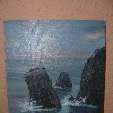 Arte: OLEO / TABLEX - ANTONI GARCIA DE PALAU - ROQUES Y MAR. Lote 38753520