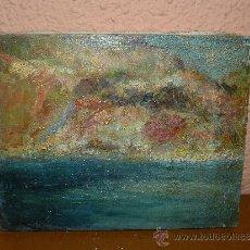 Arte: OLEO / TELA - ANÓNIMO - (MARTIN GRANADELLA) - JAVEA - ABSTRACCIÓN. Lote 38753731