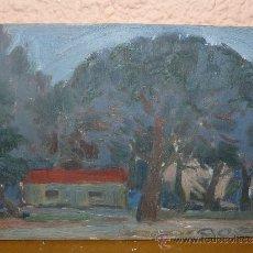 Arte - OLEO / TABLEX - ILEGIBLE - CASTELLDEFELS (BARCELONA) - 38753940