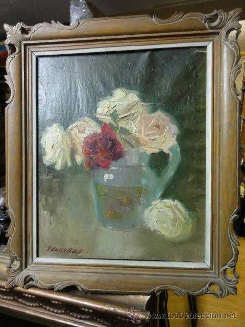 FLORERO (Arte - Pintura - Pintura al Óleo Contemporánea )