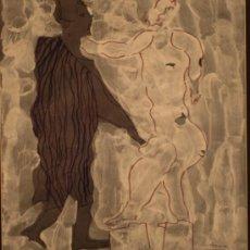 Arte: CUADRO JOAN COMELLAS I MARISTANY BARCELONA 1913 - BARCELONA 2000 MEDIDAS 62X57CM. Lote 38791363