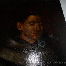 Arte: ANTIGUO LIENZO DE SAN FRANCISO DE ASIS. OIL CANVAS, S. XVIII. Lote 38895405