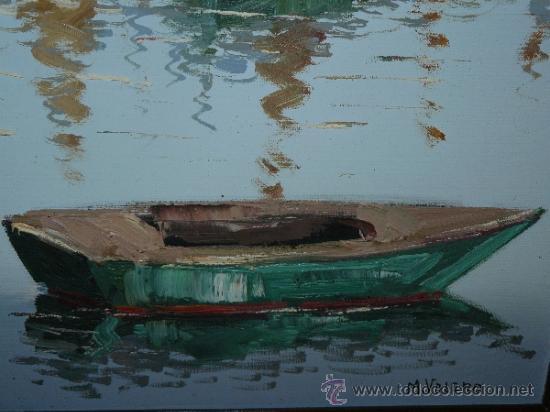 Arte: OLEO / TELA - FIRMADO M VALERO - MARINA - Foto 6 - 38874314