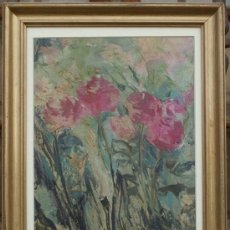 Arte: OLEO SOBRE TELA. C 1960. FDO A. MOLINA. Lote 38892679