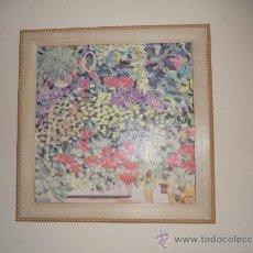 Arte: OLEO SOBRE LIENZO FIRMADO POR M.FLORES. Lote 38926164