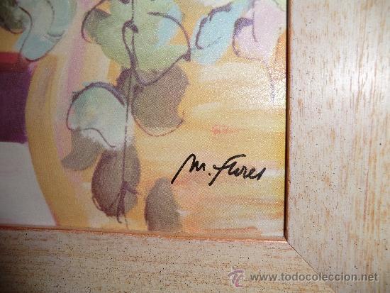 Arte: Oleo sobre lienzo firmado por M.Flores - Foto 2 - 38926164