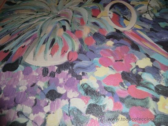 Arte: Oleo sobre lienzo firmado por M.Flores - Foto 4 - 38926164