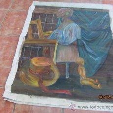 Arte: CUADRO ORIGINAL AL OLEO. FIRMADO. Lote 39067457