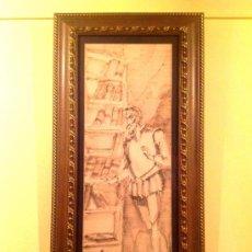 "Arte: CUADRO AL ÓLEO DEL PINTOR JOSE MX OTEQUI ""DON QUIJOTE DE LA MANCHA"". Lote 39291934"