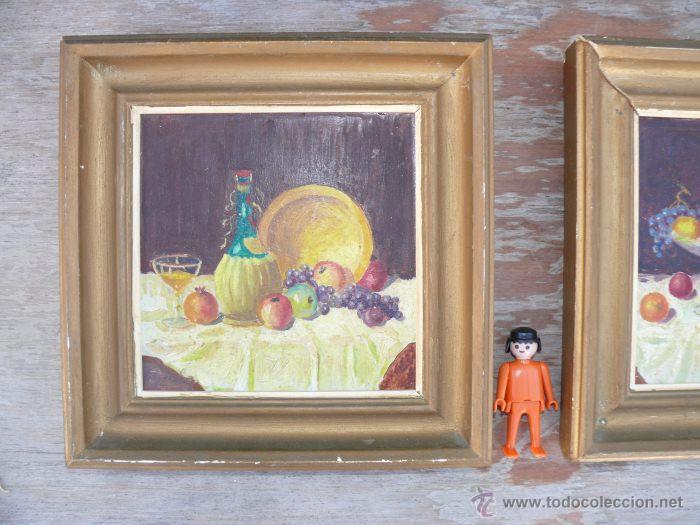 Pinturas cuadros antiguos oleo bodegon firmado comprar for Comprar cuadros bonitos