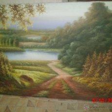 Arte: CUADRO PINTADO AL OLEO. Lote 39388216