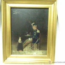 Arte: OLEO SOBRE TABLA FIRMADO J.BALLESTER SIGLO, XIX. Lote 39564200