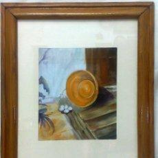 Arte: CIRCA 1950-1980,- OLEO/ LIENZO, BODEGÓN,. Lote 30861494