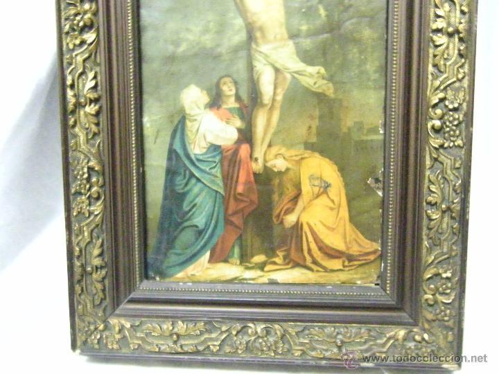 Arte: OLEO EN PAPEL SOBRE COBRE SIGLO XVIII - Foto 7 - 61038186