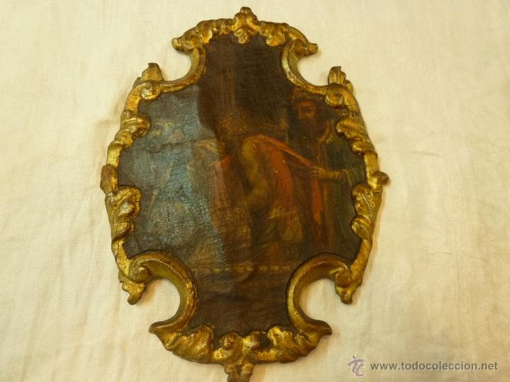 PINTURA AL OLEO SOBRE TELA PEGADO EN TABLA (Arte - Pintura - Pintura al Óleo Moderna sin fecha definida)
