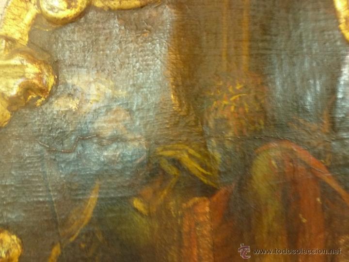 Arte: pintura al oleo sobre tela pegado en tabla - Foto 12 - 39633633