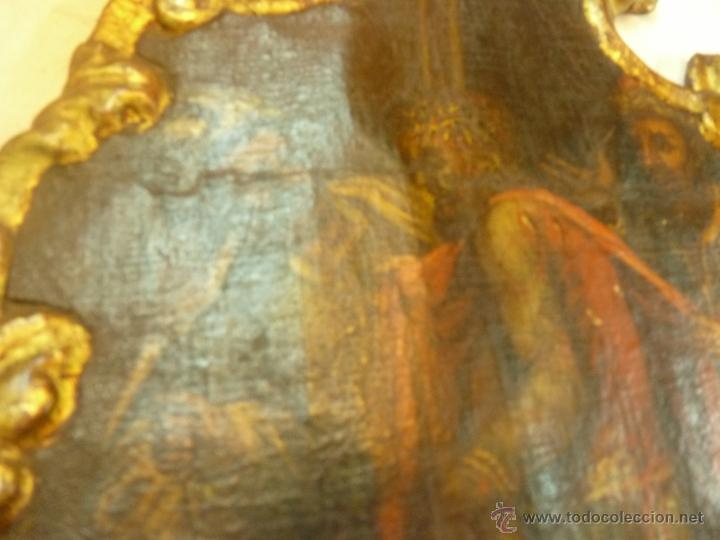 Arte: pintura al oleo sobre tela pegado en tabla - Foto 15 - 39633633