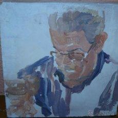 Arte: OLEO / TABLEX - SACRIS - ROSTRO .. Lote 39650016