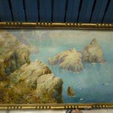 Arte: PAISAJE DE MALLORCA DE JOAN FUSTER I BONNIN. Lote 39715513