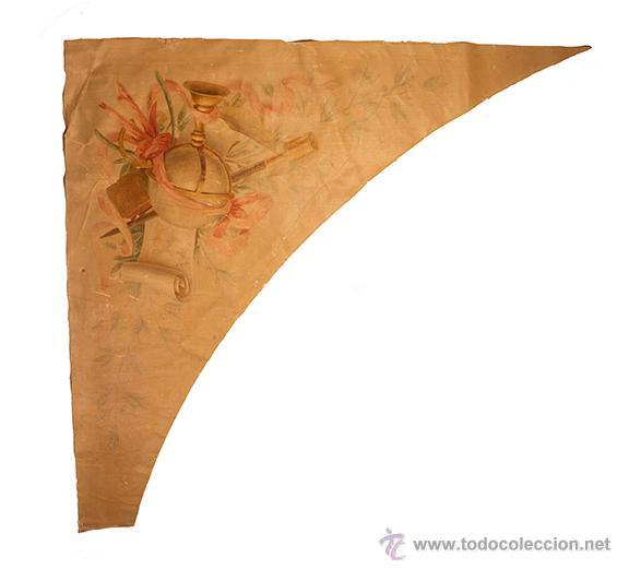 Arte: CUATRO ALEGORIAS EN TELA DEL SIGLO XVIII -LAS CUATRO ARTES- - Foto 4 - 12066296