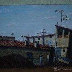 Arte: OLEO / TELA - FDO MIKELABURU - SUEÑO LATINO ANTENES 2. Lote 39855609