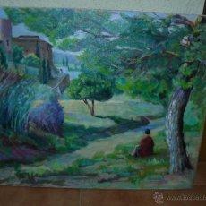 Arte: OLEO / TELA - MARTINEZ - 1981 - SANT PERE DE RIBES. Lote 39986952
