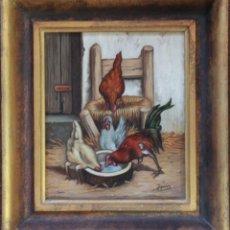 Arte: LAS GALLINAS - J.TORRES. Lote 39998655