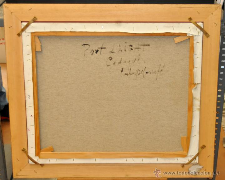 Arte: FRANCISCO CARBONELL MASSABÉ (BARCELONA,1928) OLEO TELA. PORT LLIGAT (CADAQUÉS) GIRONA - Foto 12 - 40065174