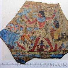 Arte: EGIPTO - ESCENA DE CAZA. Lote 40227374