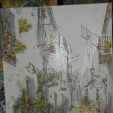 Arte: OLEO SOBRE TELA. C 1960. FDO. . Lote 40246974
