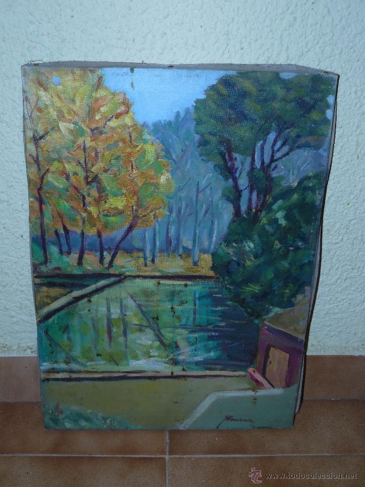 OLEO / TELA - FDO L. LLONCHSOLÁ - PAISAJE (Arte - Pintura - Pintura al Óleo Contemporánea )