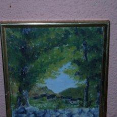 Arte: OLEO / TABLEX - F.CID - 1948 - PAISAJE. Lote 40385369