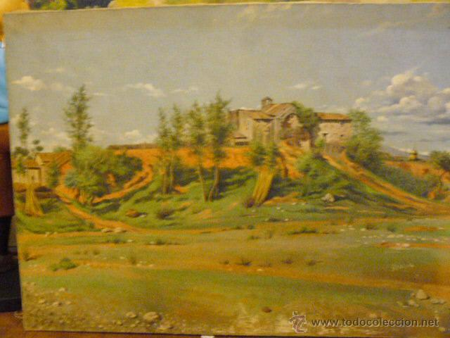 PAISAJE AL OLEO (Arte - Pintura - Pintura al Óleo Antigua sin fecha definida)