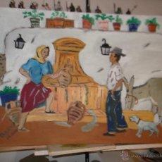 Arte: BERJA ,FUENTE DE TORO DE CRESPO. Lote 40639885