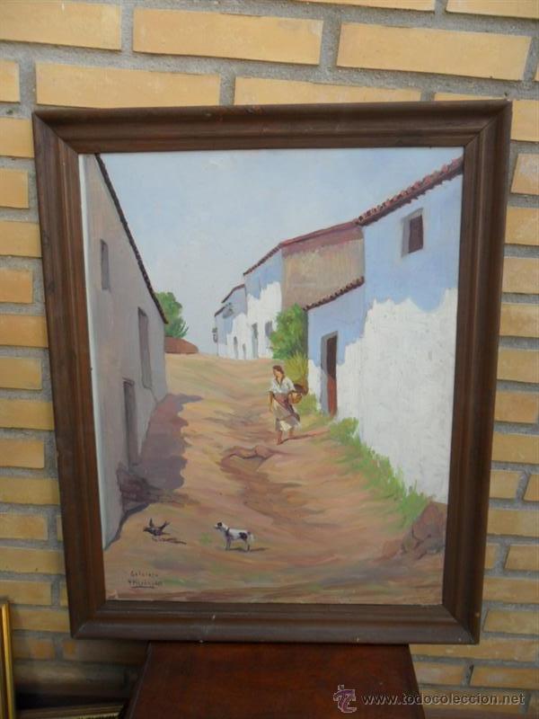 PINTURA ANTIGUA CON AUTOR (Arte - Pintura - Pintura al Óleo Antigua sin fecha definida)
