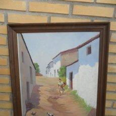 Arte: PINTURA ANTIGUA CON AUTOR. Lote 40665798