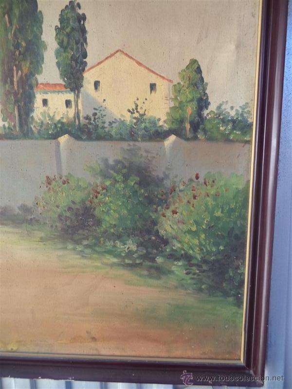 Arte: pintura antigua paisaje - Foto 3 - 40760600