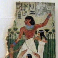 Arte: EGIPTO - ESCENA DE CAZA. Lote 40226341