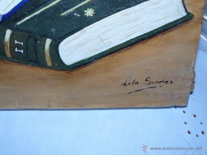 Arte: OLEO / TELA - LOLA SANCHEZ - LIBROS - Foto 3 - 40870802