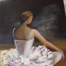 Arte: BAILARINA DESCANSANDO -OFERTA. Lote 40873954