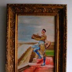 Arte: OLEO SOBRE LIENZO .-FIRMADO -FECHADO 1909 - CUADRO CON MARCO. Lote 40938692