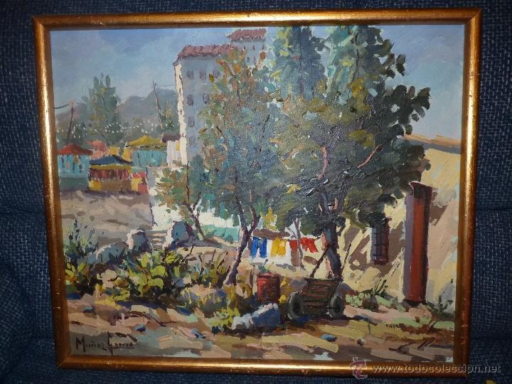 EXTRAORDINARIO CUADRO, PINTURA AL OLEO DEL PINTOR IMPRESIONISTA MALAGUEÑO GABRIEL MUÑOZ GARCÍA (Arte - Pintura - Pintura al Óleo Contemporánea )