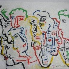 Arte: OLEO SOBRE TABLA DE TINO BANDE. Lote 41012712