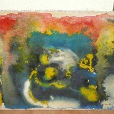 Arte: OLEO / TELA - ROGER SAUVAGE - ABSTRACCIÓN. Lote 41027916