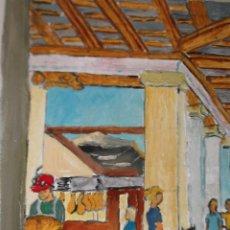 Arte: BARCELONA ,INTERIOR DE LA BOQUERÍA. Lote 41069990