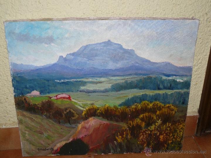 OLEO / TELA - FDO. GILABERTE - PAISAJE (Arte - Pintura - Pintura al Óleo Contemporánea )
