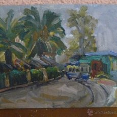 Arte: OLEO / TABLILLA ENTELADA - ANÓNIMO - PAISAJE 3. Lote 41134142