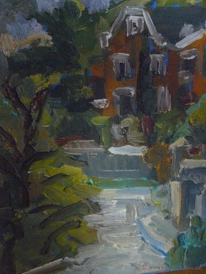 OLEO / TABLILLA ENTELADA - ANÓNIMO - PAISAJE 4 (Arte - Pintura - Pintura al Óleo Contemporánea )
