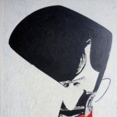 Arte: CARICATURA-OLEO SOBRE TABLA-TINO BANDE. Lote 41135011